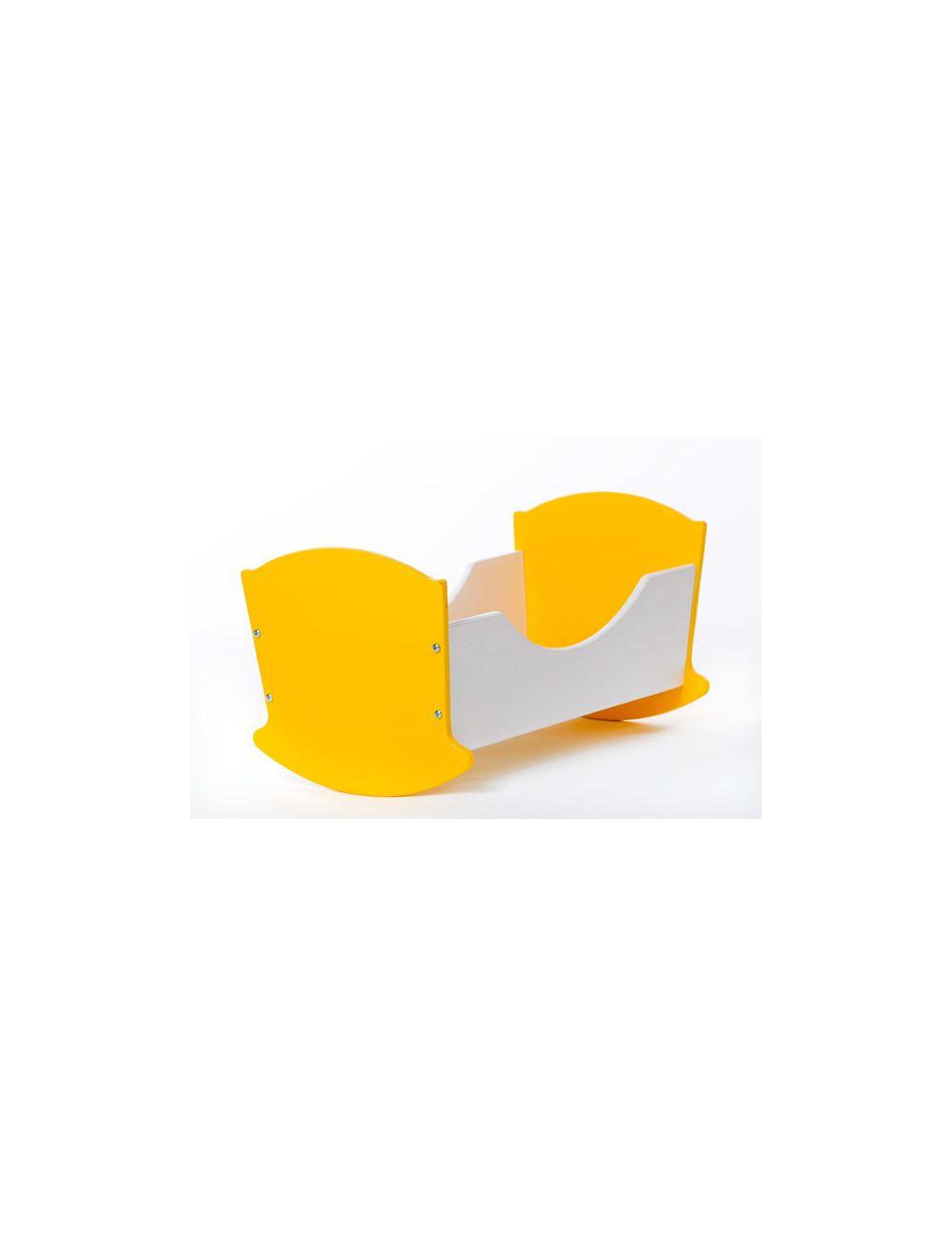 Häll 33cm kollane-valge