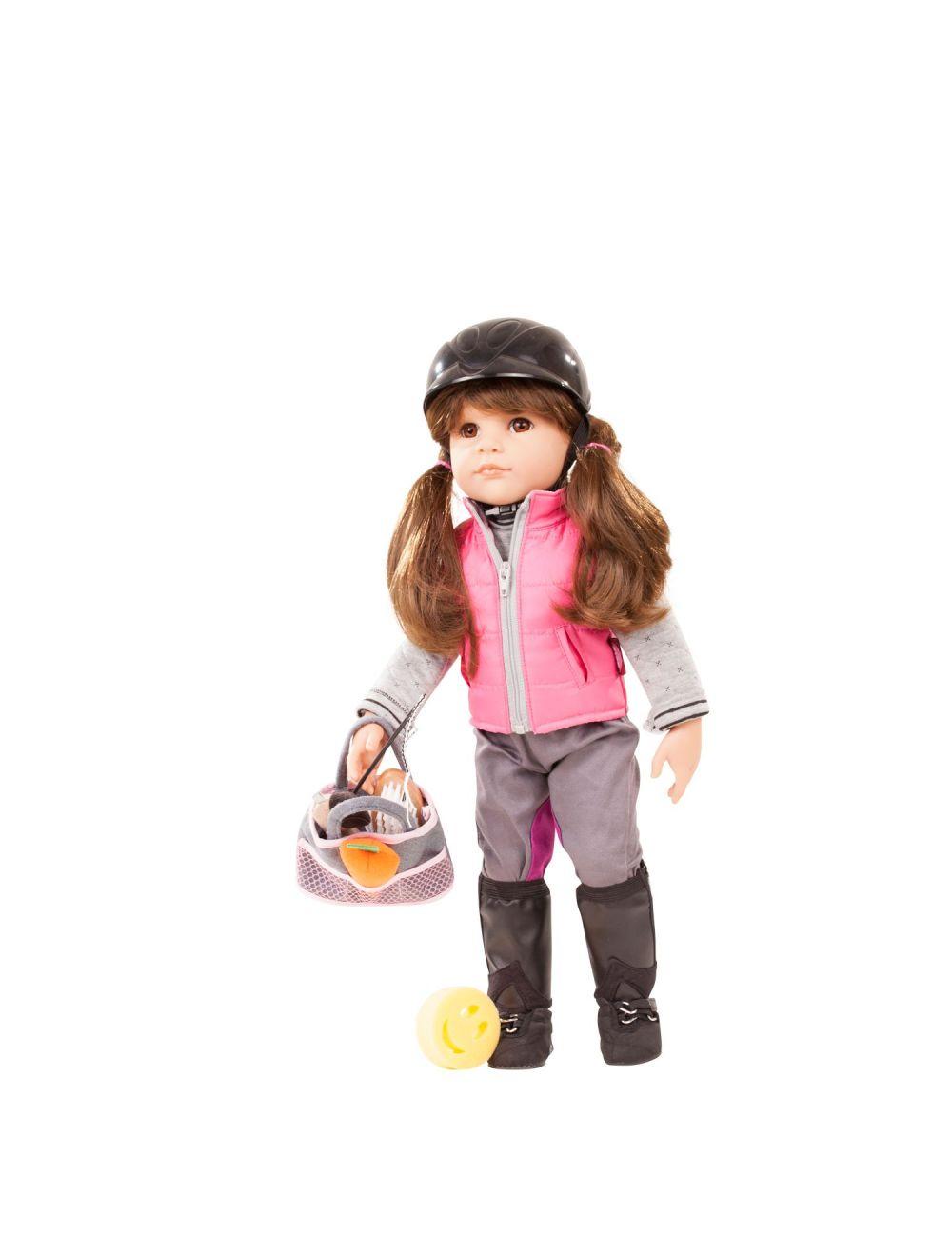 Hannah armastab ratsutada 50 cm Götz