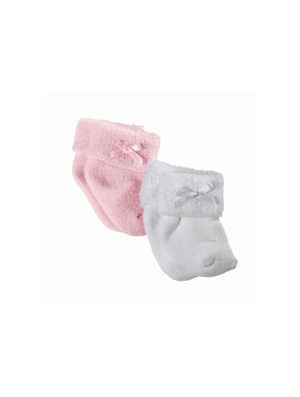 Sokid 2 paari: roosad ja valged