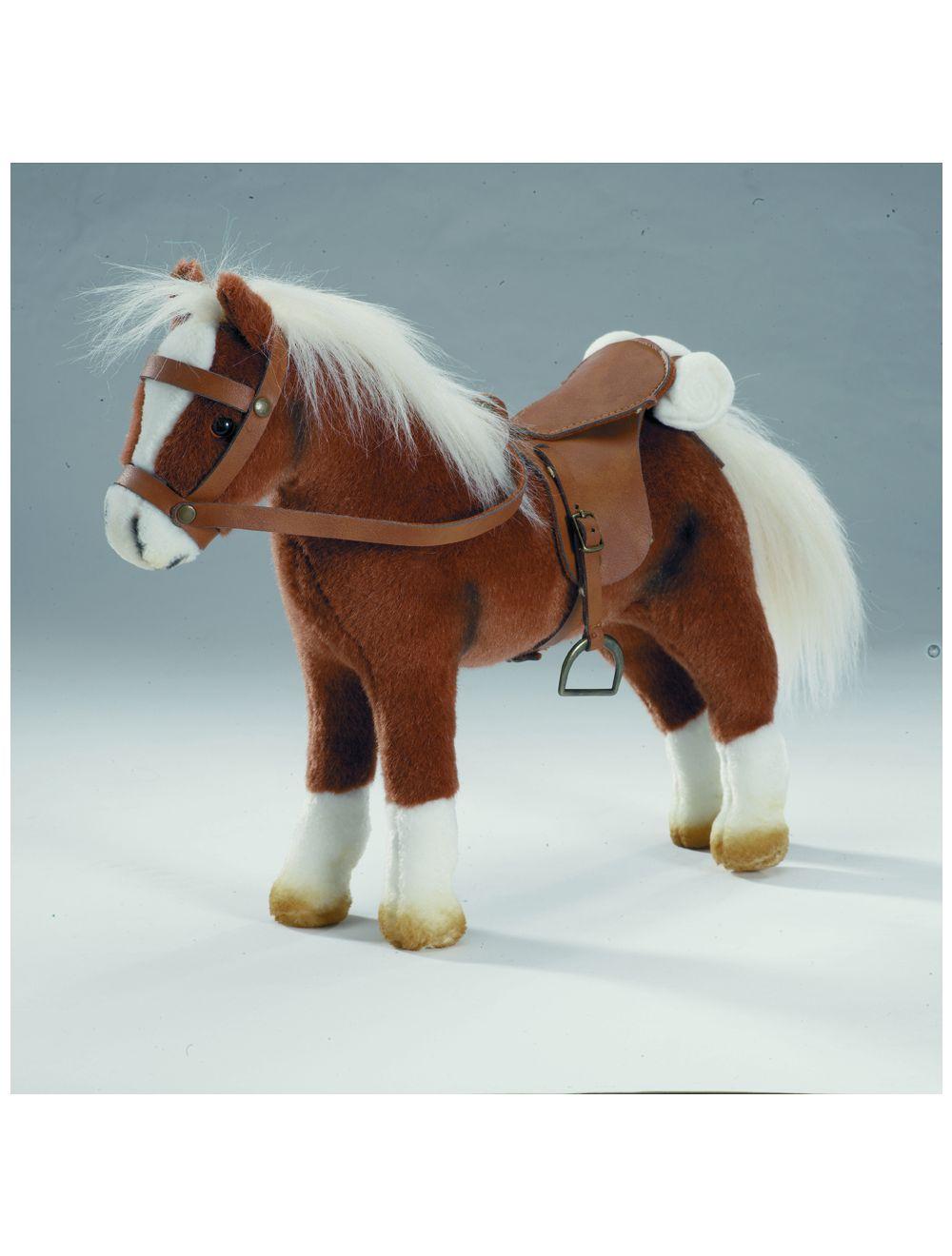 Hobune, sadul ja päitsed, pruun