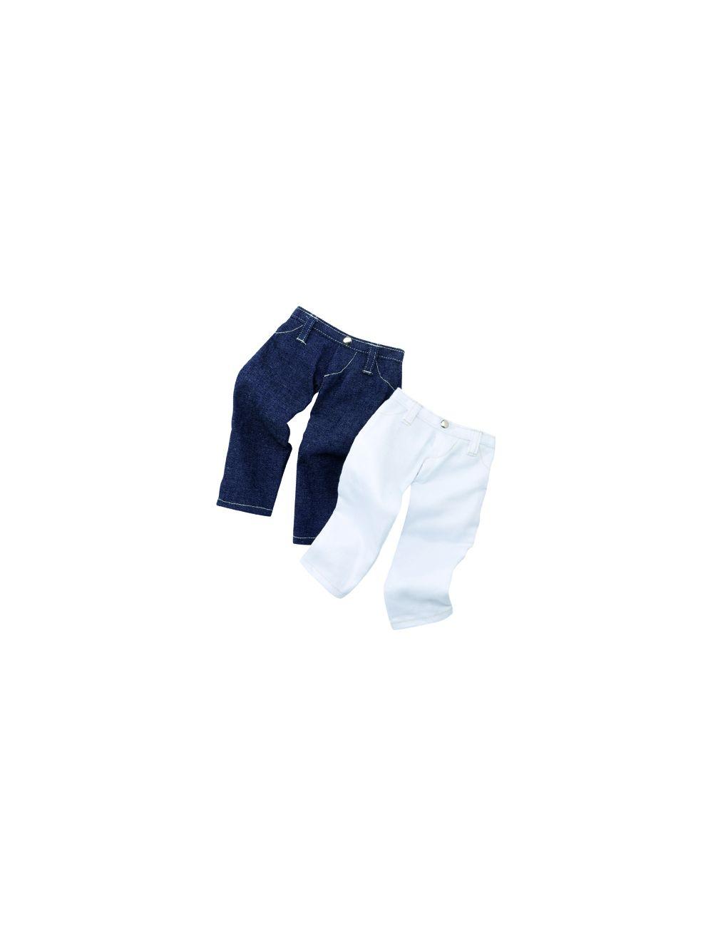 Püksid - 2 paari teksaseid