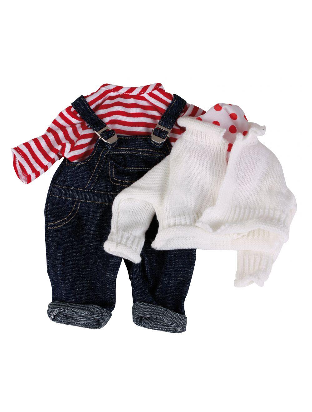 Traksipüksid top kampsun kaelarätik 30-33 cm
