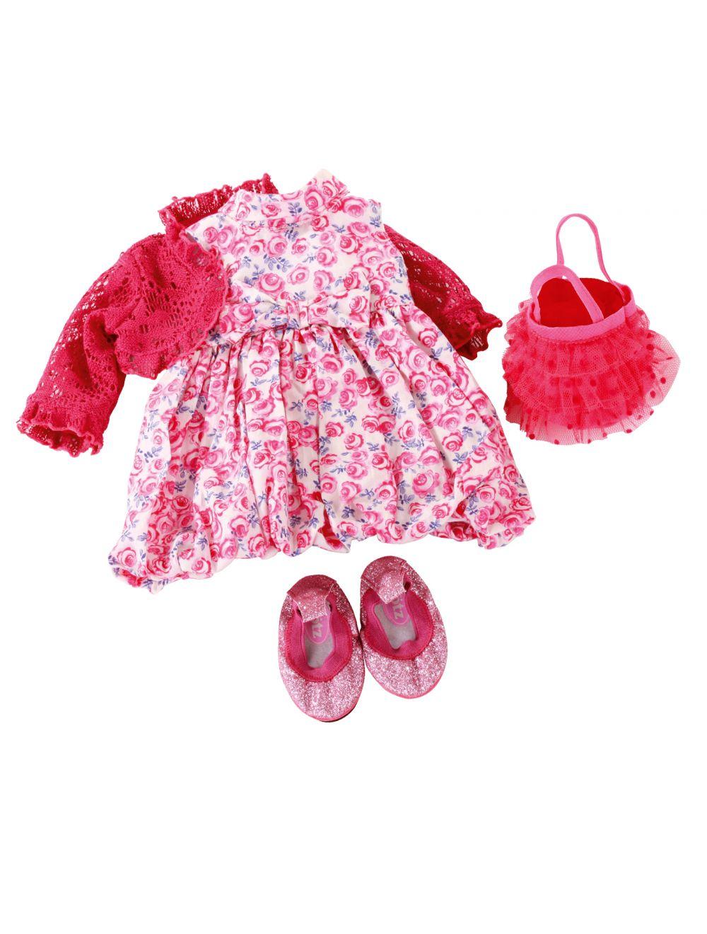 Suvekleit, jakk, kott ja kingad 45-50 cm