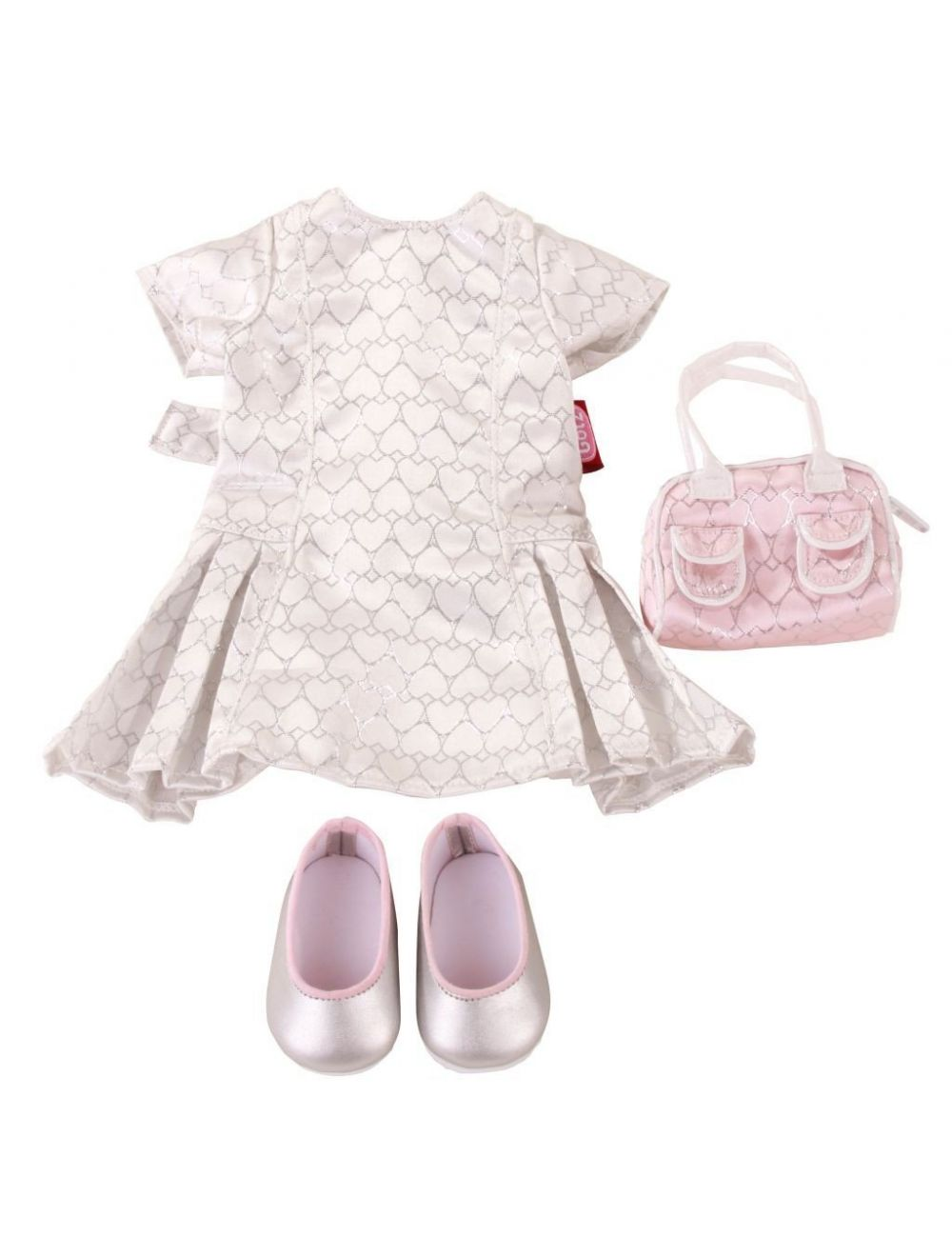 Pidulik komplekt - kleit, kott, kingad 45-50 cm
