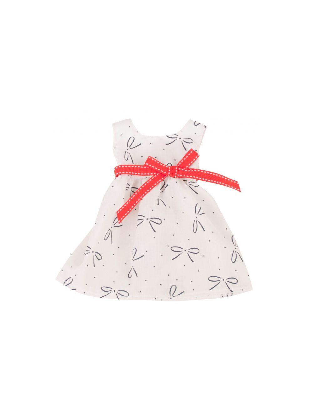 trükimustriline kleit 46-50 cm
