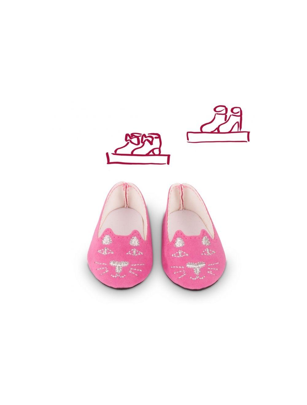 pink kitten ballerina kingad nukule 42-50 cm