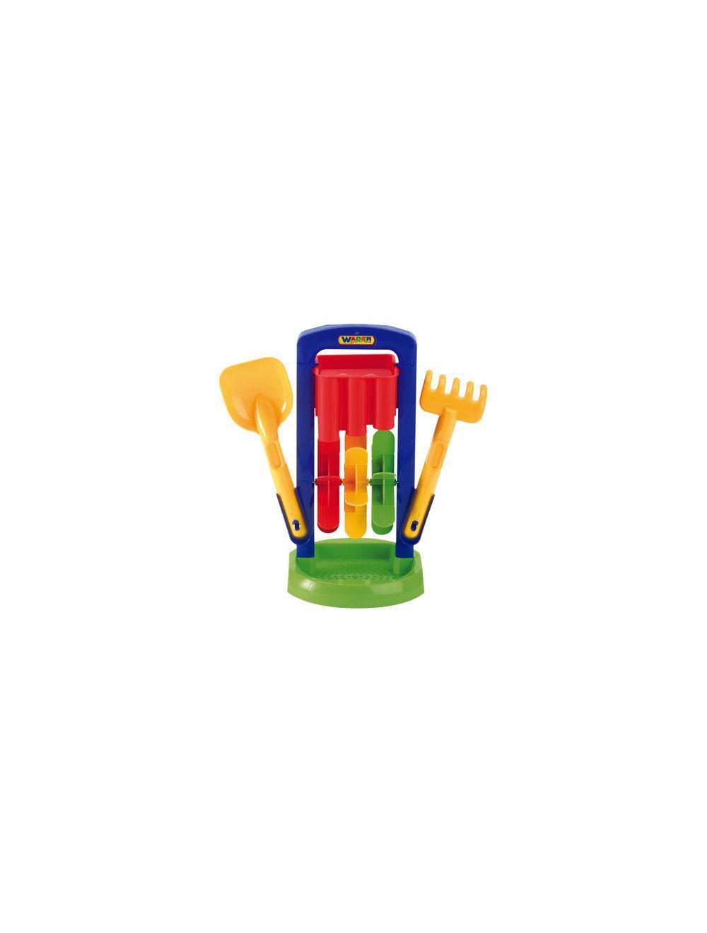 Liivaveski kühvli ja rehaga WADER Summer & Garden