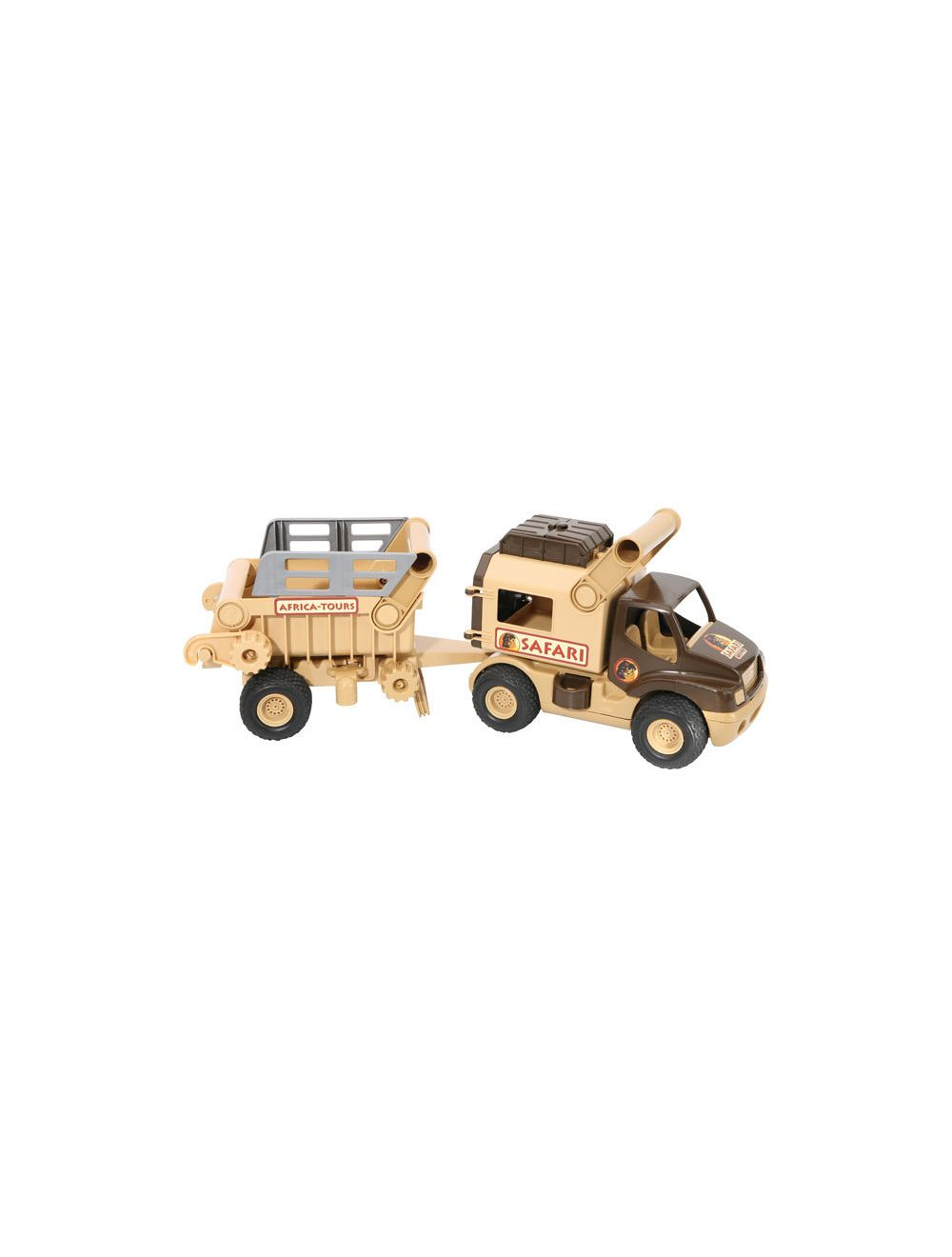 Safariauto järelkäruga WADER Rescue vehicles