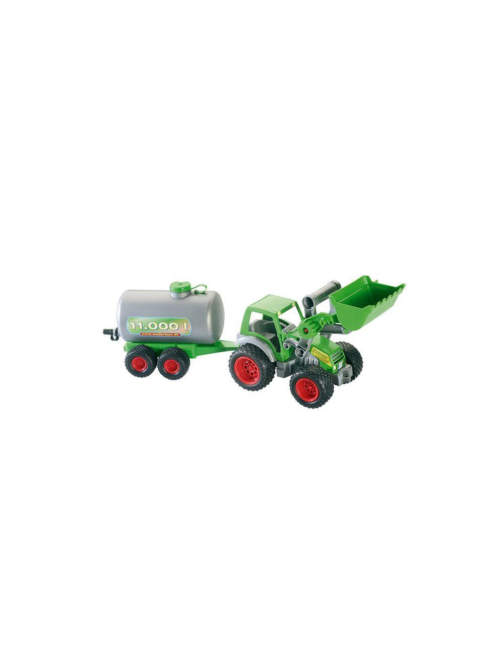 Traktor frontaaliga ja tsisternhaagis WADER Farmer technic