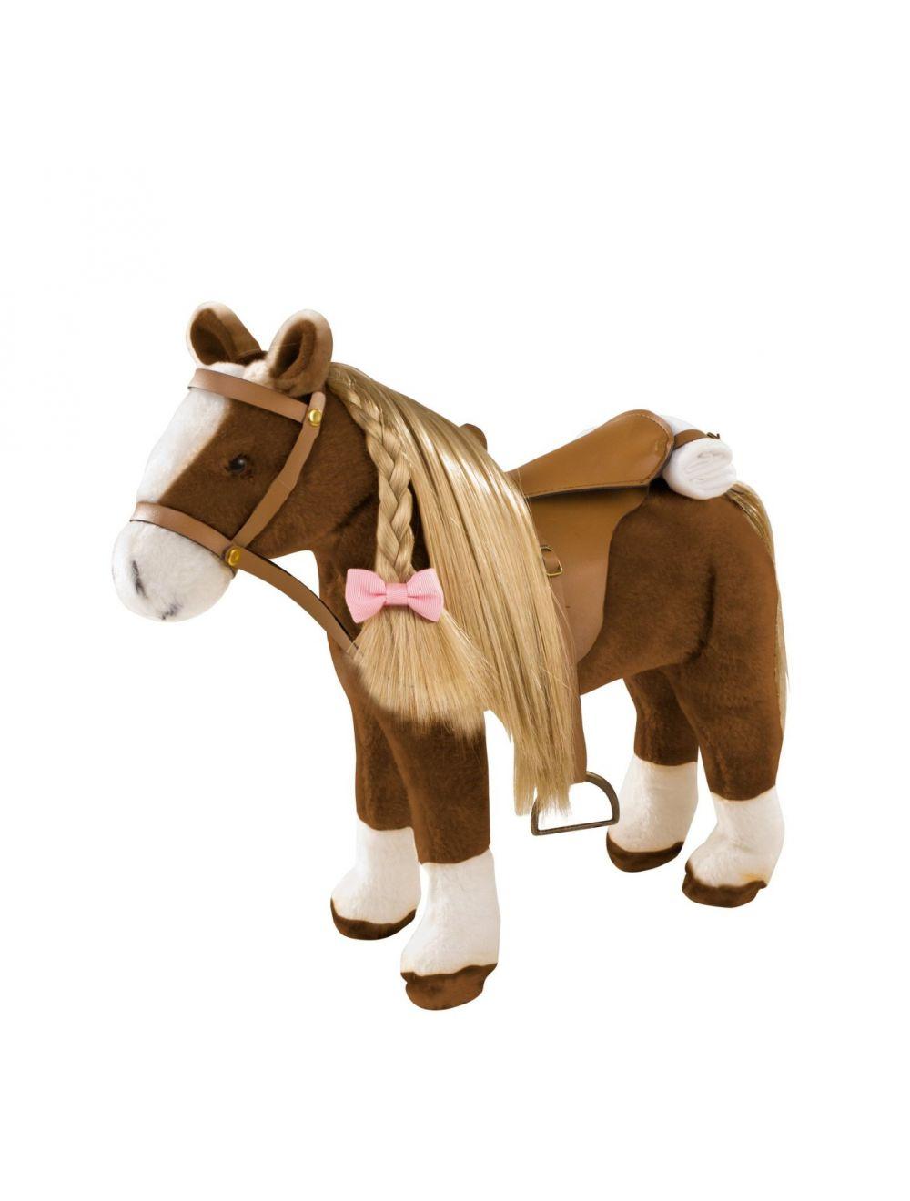 Suur kammitav hobune pruun