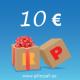 KINKEKAART 10 EUROT